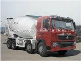 Camion de mélangeur concret de mètres cubes de camion de mélangeur concret de la Chine HOWO