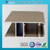 El perfil de aluminio de la protuberancia para la puerta de la ventana con la capa del polvo anodizó