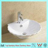 Salle de bain en porcelaine Vitreous China Art Hand Sink