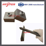 63HRC Crusher Hammer Tips Stredder Hammer Tips für Shredding