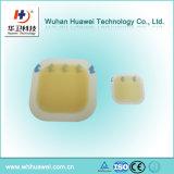 Limpeza adesiva impermeável Hydrocolloid oval e quadrada do cuidado da ferida
