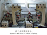 , 코너 트리밍 전 맷돌로 가는, 이탈리아 디자인 고속 자동적인 가장자리 밴딩 기계를 흠을 파는 바닥