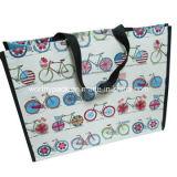 Sacchetto tessuto pp con laminato per scopo di imballaggio/di acquisto