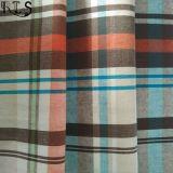 Het katoenen Garen van de Popeline verfte Geweven Stof voor Overhemden/Kleding rlsc21-1