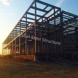 Magazzino chiaro prefabbricato della struttura d'acciaio dell'installazione facile del metallo con ISO9001