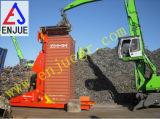 Kantelhaak van de Container van het Gebruik van de haven de Hydraulische Ineenschuivende