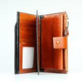 Dame-Form-Handtasche-echtes Leder-lange Arbeitsweg-Mappe