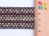 Tessitura del cotone del tessuto della corda per i sacchetti indumento e gli accessori per il vestiario
