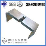アルミニウムまたは真鍮かステンレス鋼が付いているカスタマイズされたCNCの機械化の部品