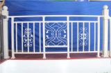 Balcón de acero galvanizado decorativo de alta calidad 26 que cercan con barandilla de la aleación de Haohan Alluminum