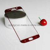 protector curvado 9h de la pantalla del vidrio Tempered del borde 3D (electrochapar) para el borde de Samsung S6 más protector de la pantalla protectora