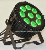 Nuovo indicatore luminoso esterno di PARITÀ di 9* 15W RGBWA+UV LED 6in1 LED