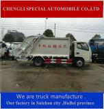 Dongfeng 4X4 voller Laufwerk-Komprimierung-Abfall-LKW