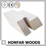 Baseboard en bois de pin moulant pour Singapour