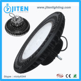Dispositivo de iluminación industrial del UFO LED de la alta bahía 100W del poder más elevado LED