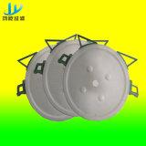 Prensa de filtro para de cerámica con la placa de filtro redonda de 800m m