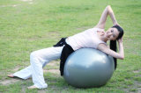 Bola de la gimnasia/de la yoga con la maneta