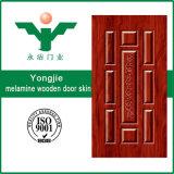 HDFのドアの皮かメラミンドアの皮または純木のベニヤのドアの皮
