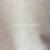 Van de hagedis het Synthetische Pu Leer van de Korrel voor de Handtassen hx-S1705 van de Schoenen van Dames