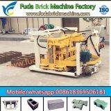 Kleine mobile hydraulische konkrete hohle Ziegelstein-Maschine der Fuda Maschinerie