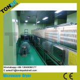 Túnel industrial de la esterilización de la esterilización de la microonda Máquina secadora transportada