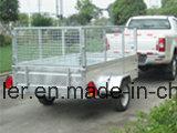 8X5 de gegalvaniseerde Aanhangwagen van de Doos