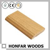 Décoration de mur avec la ligne en bois