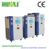 Réfrigérateur instantané de l'eau industrielle liquide en forme de boîte avec des compresseurs de défilement
