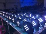 9PCS3w 3in1 LED Flat PAR Light com bateria estágio de operação Light Event Wedding Outdoor Garden Lighting