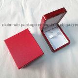Деревянная коробка серьги индикации упаковки подарка ювелирных изделий