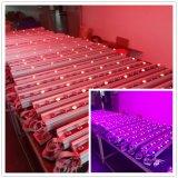 Iluminação ao ar livre da lavagem da parede do diodo emissor de luz de IP65 36X3w RGB