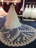 Nuovo vestito 2017 dalla principessa cerimonia nuziale di arrivo con bordare parte superiore