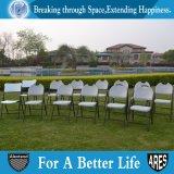 PP 회색 바닷가를 가진 가벼운 옥외 강철 접는 의자