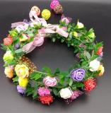 卸し売り多彩な新婦付添人の庭の屋外の結婚式の天飾りの花輪