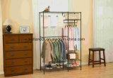 Подгонянный шкаф металла шкафа новой одежды стали углерода конструкции Shelving провода одежды типа вися