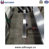 Tubo scanalato del tubo dell'acciaio inossidabile, tubo della Manica per l'inferriata di vetro della balaustra