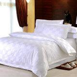 L'insieme dell'assestamento del cotone dell'hotel dell'assegno del raso con il Comforter ha impostato (WS-2016020)