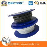 Emballage en graphite PTFE tressé, emballage en PTFE