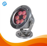 Indicatore luminoso IP68 della piscina di AC/DC 12V 24V 6W LED