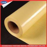 Película fria lustrosa do PVC da laminação para o material da impressão