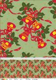 La nueva mantel impreso Navidad de encargo popular del PVC de la boda de la decoración 2016