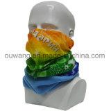 Многофункциональный изготовленный на заказ эластичный приполюсный Bandana гетры шеи спорта ватки
