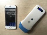 lo más tarde posible punta de prueba linear del ultrasonido sin hilos de 128 elementos para el iPhone y el androide