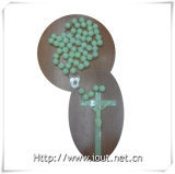 20mm / 30mm Rosário Beads, Big Catholic Rosary, Luminous Religious Rosary, Big Necklace (IO-cr_luminous)