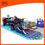 Parque de diversões engraçado dos miúdos do campo de jogos inflável macio