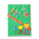 Impresión caliente del libro de la foto del libro de la tarjeta de la venta