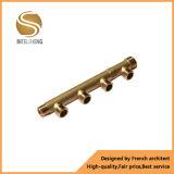 Pulgada de cobre del múltiple el 1/2 del mismo tamaño