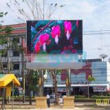 Pantalla de visualización publicitaria video a todo color al aire libre de LED P6