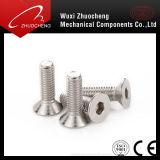 DIN7991 M2-M20のステンレス鋼の平らなヘッドによってさら穴を開けられるソケットヘッドねじ