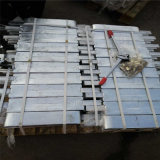 装置アルミニウム亜鉛陽極を準備する海洋の犠牲的な亜鉛陽極海洋の陽極